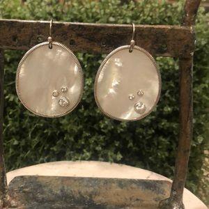Silpada Mother of Pearl Earrings